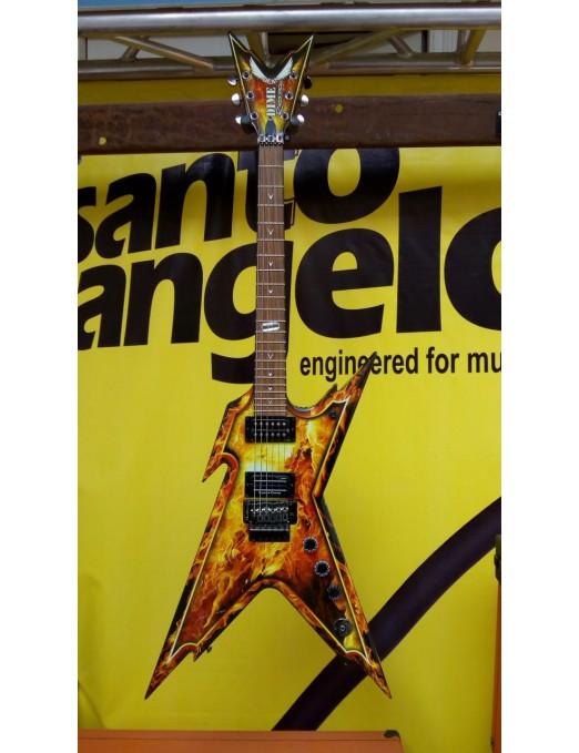 DEAN GUITARS® Guitarra Eléctrica DIMEBAG Razorback Explosión con Case