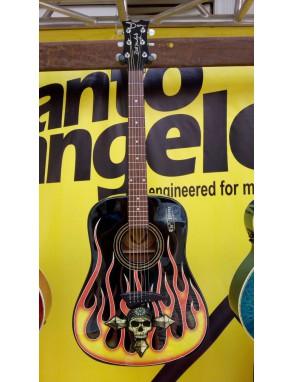 DEAN GUITARS® Guitarra Acústica Bret Michaels The Player