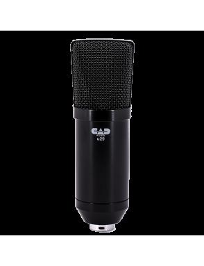 CAD AUDIO® Micrófono Estudio U29 Condensador
