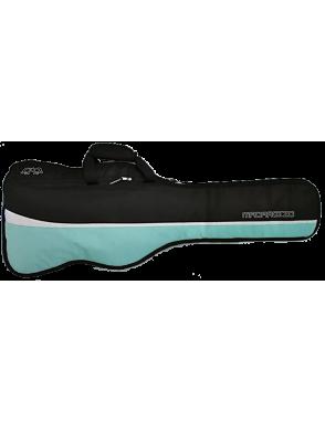 MADAROZZO® Funda Guitarra Clásica 4/4 MADElegant™ G0030-BG Acolchado 10mm Color: Black/Turquoise