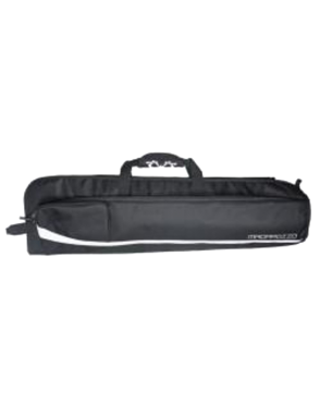 MADAROZZO® Funda Flauta MADElegant™ FLT-BK Acolchado 20mm Color: Black