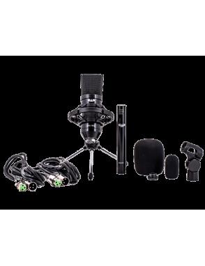 CAD AUDIO® Micrófono Estudio Pack GXL1800SP Studio Pack: GXL1800 GXL800 Atriles Cables y Paravientos