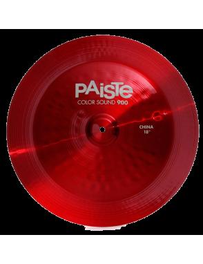 """Paiste® Platillo China 18"""" Color Sound 900 Red"""