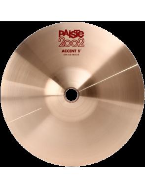 """Paiste® Platillo Efecto Accent 6"""" Serie 2002"""