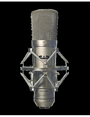 CAD AUDIO® Micrófono Estudio GXL2200 Vocal Condensador con Shockmount