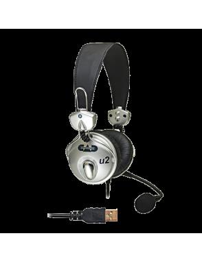 CAD AUDIO® Audífono U2 USB con Micrófono Condensador