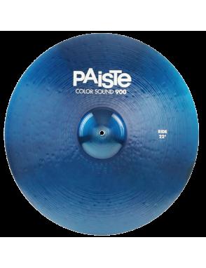 "Paiste® Platillo Ride 22"" Color Sound 900 Blue"