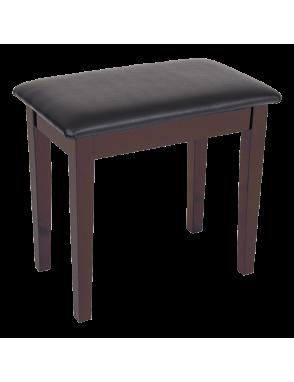 Kinsman® Banqueta Piano KPB01 Porta-Accesorios Color: Satin Café