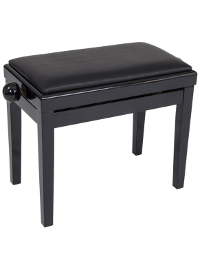 Kinsman® Banqueta Piano KPB03 Ajuste Altura Color: Negro Brillante