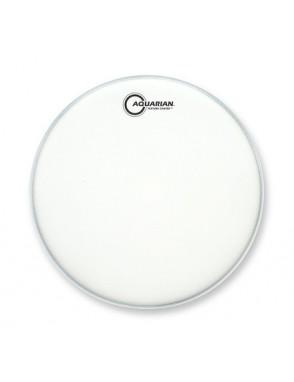 "Aquarian Drumheads® Parche Tom 14"" TC-14 Texture Coated™ Blanco Satinado"