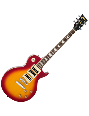 Vintage® Guitarra Eléctrica serie V1003 Color: Cherry Sunburst