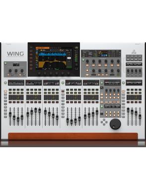 Behringer® Mixer Digital WING 40 Entradas 25 Faders Interfaz 32 Canales