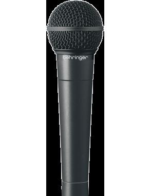 Behringer® Micrófono Dinámico ULTRAVOICE XM8500 Vocal de Mano Cardioide con Estuche