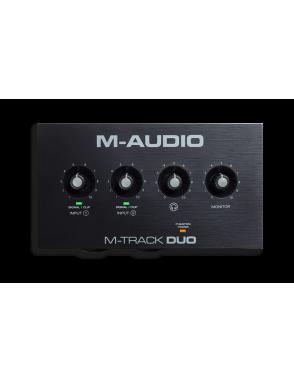 M-AUDIO® Interfaz Audio M-Track Duo 2 Canales