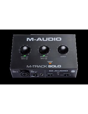 M-AUDIO® Interfaz Audio M-Track Solo 2 Canales