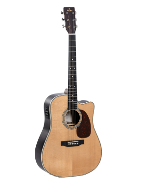 Sigma® Guitarra Folk E/A Dreadnought DTC-41E+ Fishman Presys+