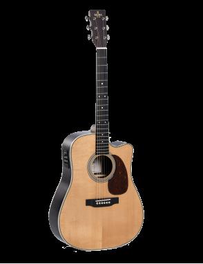 Sigma® Guitarra Folk E/A Dreadnought DTC-41E+ Fishman Presys+