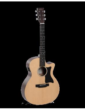 Sigma® Guitarra Eléctroacústica Folk Grand OM