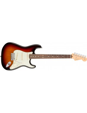 Fender® Guitarra Eléctrica American Professional Stratocaster® Three Color Sunburst Con Case