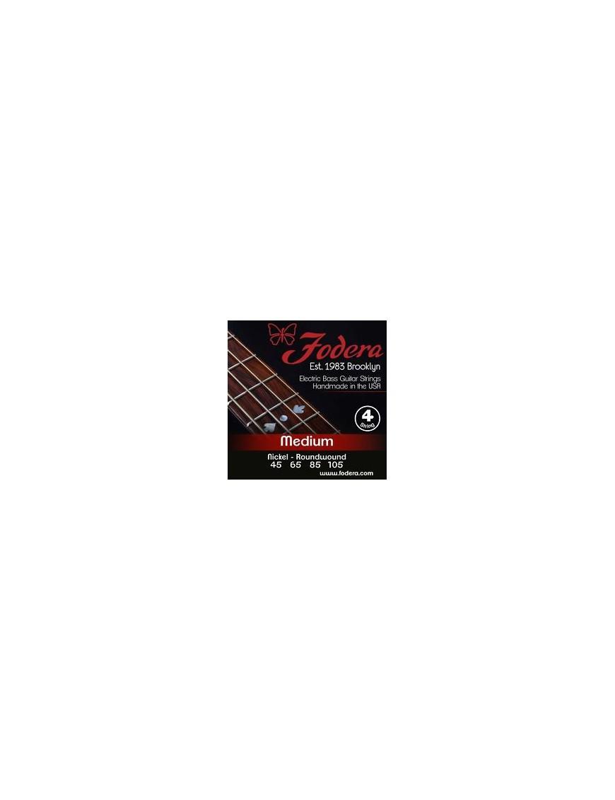 Fodera® Cuerda Bajo Eléctrico 4 Nickel Medium 45 - 105