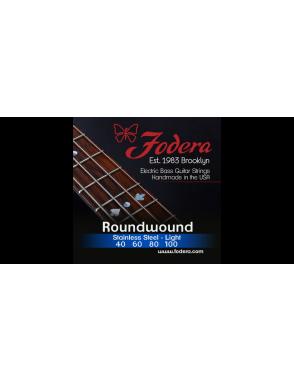 Fodera® Cuerda Bajo Eléctrico 4 Cuerdas Stainless Steel 40 - 100
