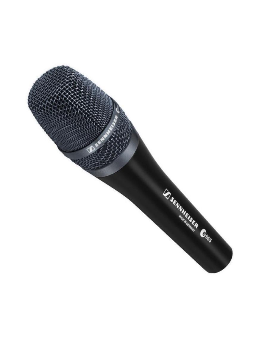 Sennheiser® Micrófono Vocal e 965 Conmutable Hi End