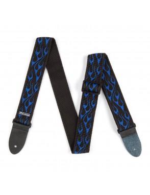 Dunlop® Correas D38-11BL LLamas Azul