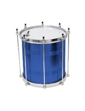 """Luen® Repinique 30 cm x 10"""" 8 Afinadores Azul"""