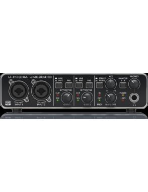 Behringer® Interfaz de audio UMC204HD