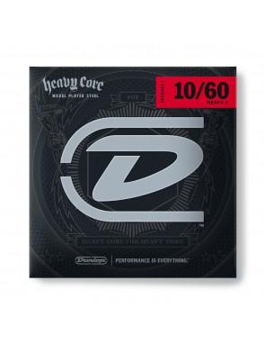 Dunlop® Cuerdas Guitarra Eléctrica 7 Cuerdas DHCN 10-60 Heavy Core® Heavy