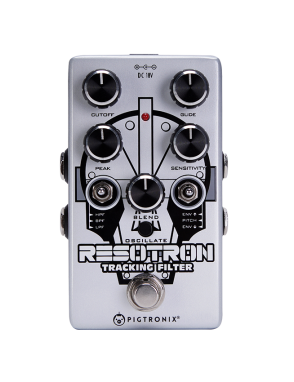 Pigtronix® Pedal Guitarra RESOTRON Tracking Filter Análogo