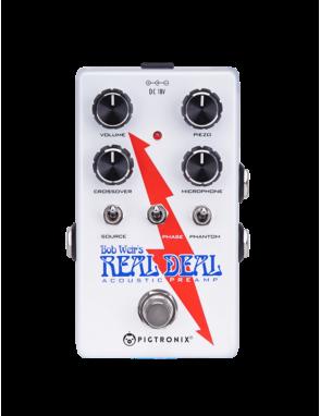 Pigtronix® Pedal Preamp Acústico BWP BOB WEIR'S REAL DEAL