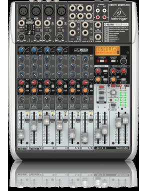 Behringer® consola mezcladora QX1204USB