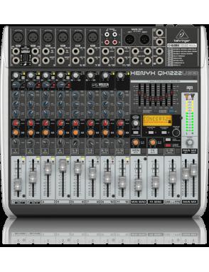 Behringer® Mixer QX1222USB Multi-FX 16 Entradas