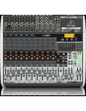 Behringer® consola mezcladora QX1832USB