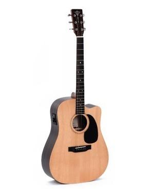 Sigma® Guitarra Eléctroacústica Folk Dreadnought