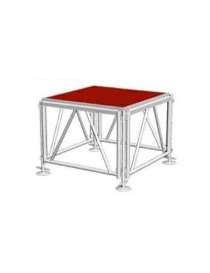 Weinas® Truss on Stage Pata Base Nivel Aluminio S002-TS05 P/22X122