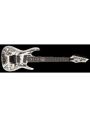 DEAN GUITARS® Guitarra Eléctrica 7 Cuerdas RC7X RUSTY COOLEY WRAITH Case