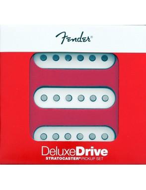 Fender® Cápsula Guitarra Eléctrica DeluxeDrive Stratocaster® Set 3 Unidades