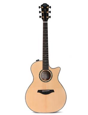 Sigma® Guitarra Electroacústica Grand OM SGBCE-5+ Fishman® Con Case Edición Limitada