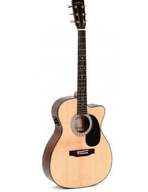 Sigma® Guitarra Eléctroacústica Folk Thin 000
