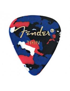 Fender® Uñetas Celuloide 351 Classic Confetti Thin Set: 144 Unidades