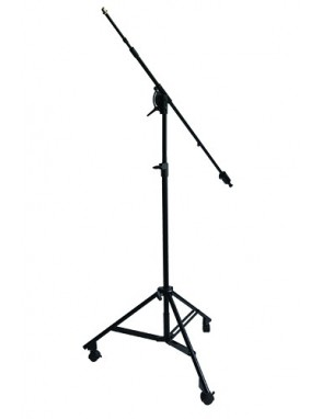 ApexTone® Atril Micrófono Estudio Boom/Pluma Con Ruedas ST01