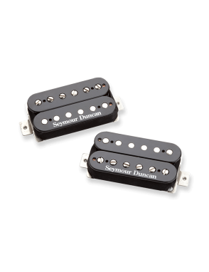 Seymour Duncan® Cápsulas Guitarra Eléctrica SH-4/SH-2 Set: HOT RODDED Neck Bridge Humbucker