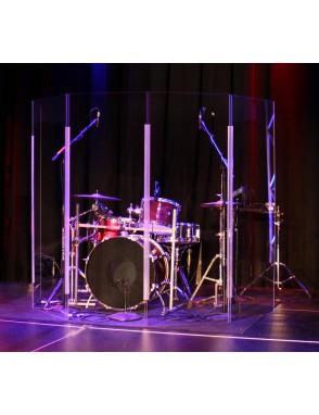 ApexTone® Drum Shield Batería Escudo Acústico ApexTone DSLITE Set: 5