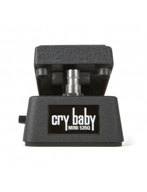 Dunlop® Pedal Guitarra CBM535Q Cry Baby®  Mini Multi-Wah