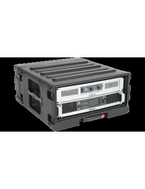 """SKB® Case Resina Audio 1SKB-R1906 Rack 19"""" 6U Con Ruedas"""
