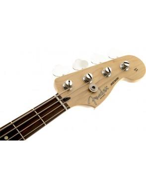 Fender® Bajo Eléctrico Mexican Deluxe Active Jazz Bass® Black Con Funda