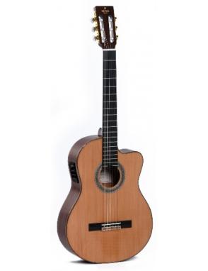 Sigma® Guitarra Clásica Electroacústica 6E+