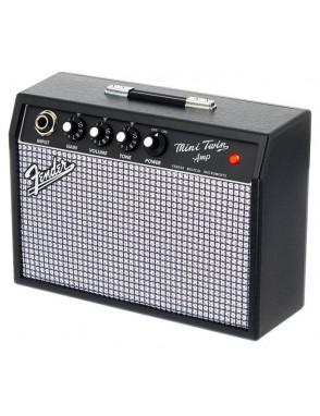 Fender® Mini Amplificador Guitarra Mini 65' TWIN-AMP